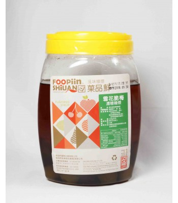 G01036-雪花脆梅露 2.5kg/罐