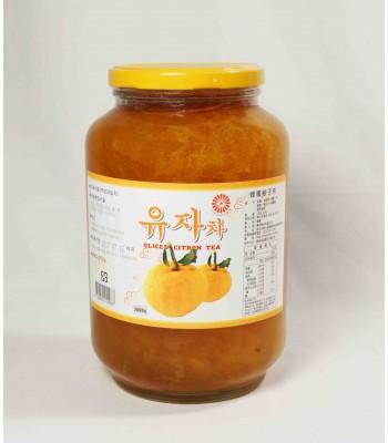 G01102-韓國柚子茶2kg/罐