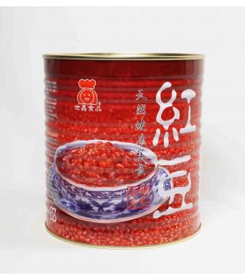 G03001-世鑫台灣紅豆 3.2kg/桶