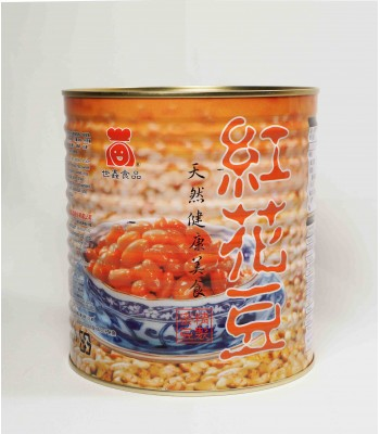 G03004-世鑫蜜汁大花豆3.2kg/桶