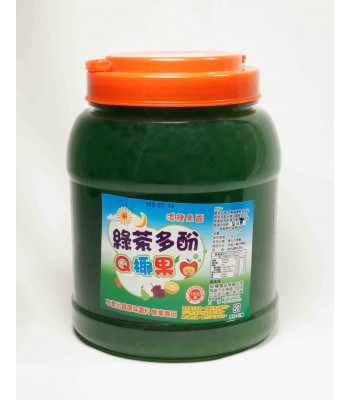 G06011-綠茶多酚Q椰果3.2kg/罐