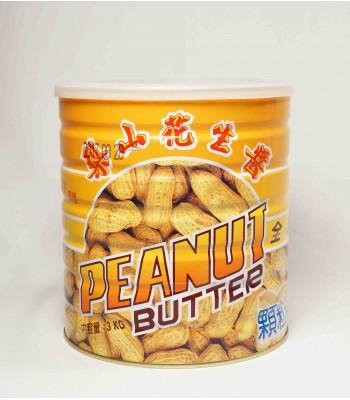 H01003-顆粒花生醬(五惠)3kg/罐