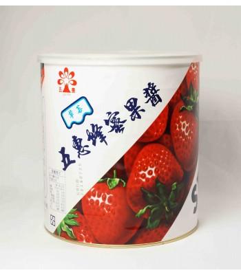 H01011-蜂蜜草莓醬(五惠)3kg/罐