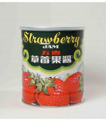 H01013-五惠草莓醬(小罐)1kg/罐
