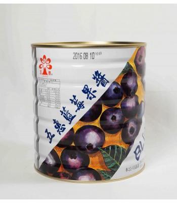 H01015-藍莓果醬(五惠)3kg/桶