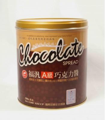 H01036-A級福汎巧克力醬3kg/罐