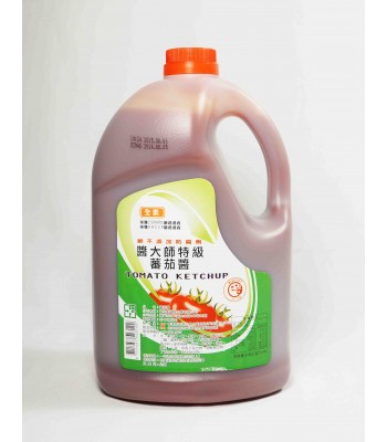 H02011-醬大師蕃茄醬(塑膠桶)3.15kg/桶