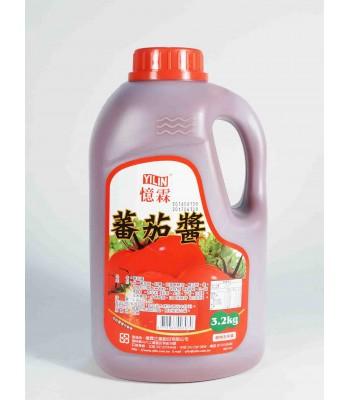 H02017-憶霖蕃茄醬(塑膠桶)3.2KG/桶
