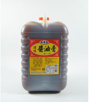 H02107-新香園醬油膏 3kg/桶