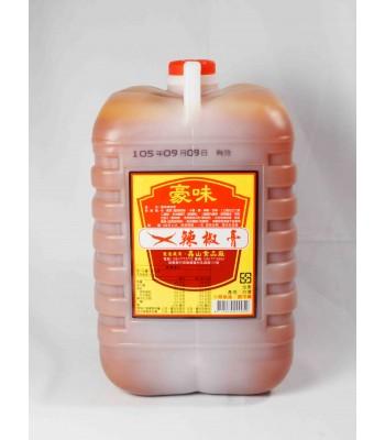 H02112-豪味辣椒膏 5公升/桶
