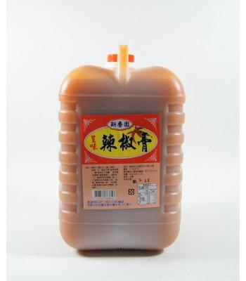 H02117-新香園辣椒膏 3kg/桶
