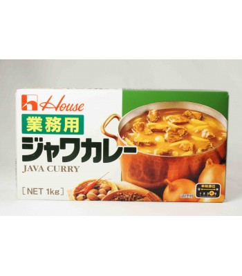 H04102-業務用爪哇咖哩4號1kg/盒