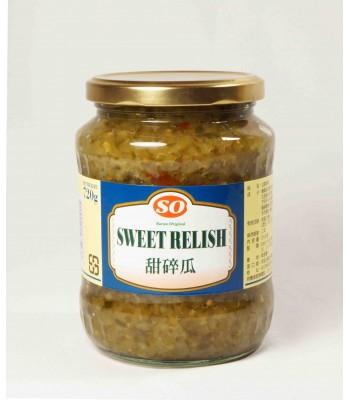 H04112-甜碎黃瓜720g/罐