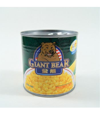 I03003-金熊 易開罐玉米粒 340g/罐