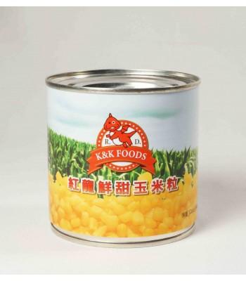 I03008-紅龍鮮甜玉米粒340g/罐