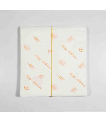 J05305-L型漢堡紙袋100張/包(橘色)