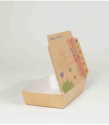 J05401-迷你紙餐盒100個/束