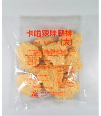 K02108-香雞城大片辣味卡啦雞10片/包