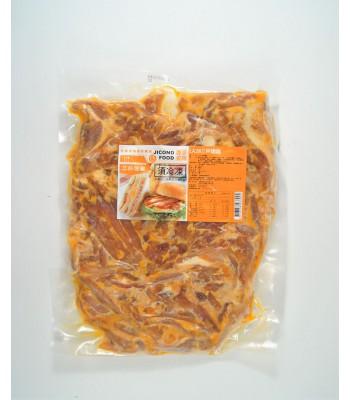 K02251-三杯雞燻雞肉片1kg/包