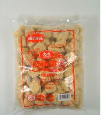 K02312-大成鄉嫩黑椒雞塊3kg/包
