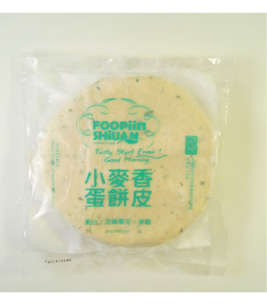 K06004-小麥香芝蔥蛋餅皮30張/包