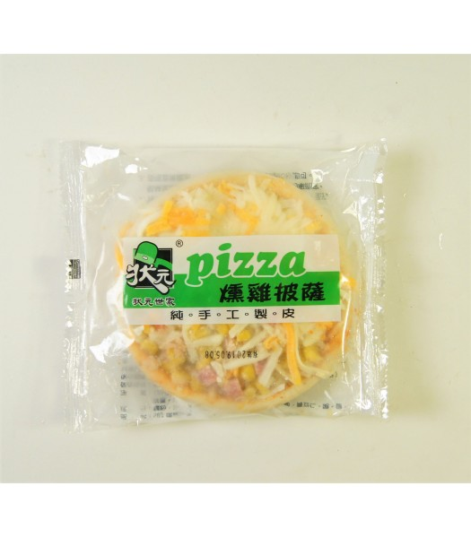K07013-狀元燻雞5吋圓披薩6片/包