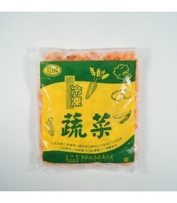 K07504-冷凍紅蘿蔔丁1kg/包