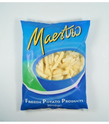 K08007-波浪薯條(塑膠袋)2kg/包